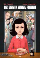 Okładka książki - Dziennik Anne Frank. Powieść graficzna