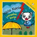 Okładka książki - Kicia Kocia i straszna burza
