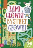 Okładka książki - Łamigłówki bystrej główki 5-6 lat
