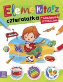 Okładka - Elementarz 4 latka. Akademia przedszkolaka