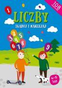 Okładka ksiązki - Liczby Zgaduj i naklejaj