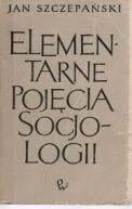 Okładka książki - Elementarne pojęcia socjologii