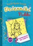 Okładka książki - Dzienniki Nikki: Zapraszam na party!