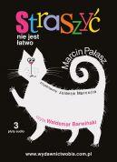 Okładka ksiązki - Straszyć nie jest łatwo. Audiobook