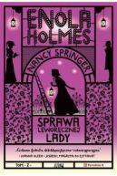 Okładka książki - Enola Holmes. Sprawa leworęcznej lady