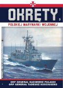 Okładka - Okręty Polskiej Marynarki Wojennej t.3