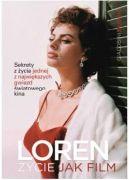 Okładka książki - Sophia Loren. Życie jak film
