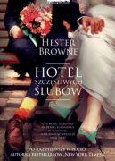 Okładka książki - Hotel szczęśliwych ślubów