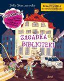 Okładka ksiązki - Ignacy i Mela na tropie złodzieja. Zagadka biblioteki