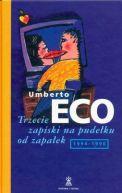 Okładka ksiązki - Trzecie zapiski na pudełku od zapałek 1994-1996