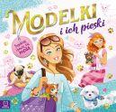 Okładka książki - Modelki i ich pieski. Projektuję i bawię się modą