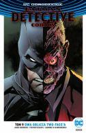 Okładka - Batman  Detective Comics  Dwa oblicza Two-Face'a, tom 9