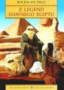 Okładka ksiązki - Z legend dawnego Egiptu