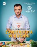 Okładka - Zawierucha w kuchni. Książka zwycięzcy programu MasterChef