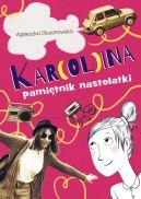 Okładka ksiązki - Kar(ol)ina. Pamiętnik nastolatki