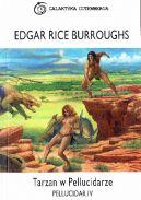 Okładka ksiązki - Tarzan w Pellucidarze