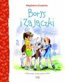 Okładka ksiązki - Borys i Zajączki