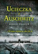 Okładka książki - Ucieczka z Auschwitz