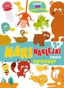 Okładka książki - Maxinaklejki. Dzieci zwierząt