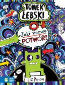 Okładka książki - Tomek Łebski (#15). Fantastyczny świat Tomka Łebskiego. Jaki znowu potwór?