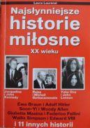 Okładka książki - Najsłynniejsze historie miłosne XX wieku