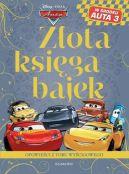 Okładka ksiązki - Auta. Złota księga bajek. Opowieści z toru wyścigowego