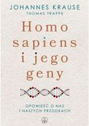 Okładka książki - Homo sapiens i jego geny