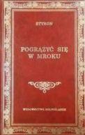 Okładka ksiązki - Pogrążyć się w mroku