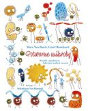 Okładka - Potworne mikroby. Wszystko o przydatnych bakteriach i podłych wirusach