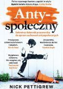 Okładka książki - Antyspołeczny. Sekretny dziennik pracownika do spraw antyspołecznych
