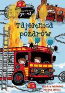 Okładka ksiązki - Tajemnica pożarów