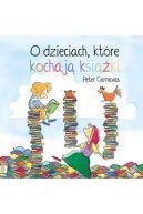 Okładka książki - O dzieciach, które kochają książki
