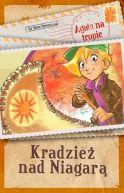 Okładka książki - Agata na tropie. Kradzież nad Niagarą
