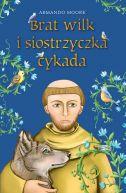 Okładka książki - Brat wilk i siostrzyczka cykada