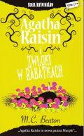 Okładka książki - Agatha Raisin i zwłoki w rabatkach
