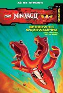Okładka ksiązki - LEGO Ninjago Komiks (#2). Grobowiec Wężowampira