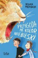 Okładka książki - Przygoda ma kolor niebieski
