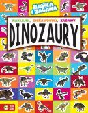 Okładka - Nauka i zabawa. Dinozaury