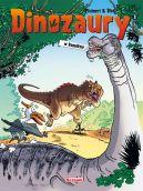 Okładka książki - Dinozaury w komiksie 3