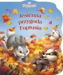 Okładka ksiązki - Jesienna przygoda Tuptusia