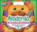 Okładka ksiązki - Akademia przedszkolaka. Edukacyjne książeczki dla 5-latka