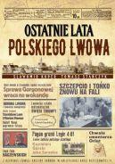Okładka ksiązki - Ostatnie lata polskiego Lwowa