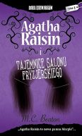 Okładka książki - Agatha Raisin i tajemnice salonu fryzjerskiego