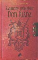 Okładka książki - Zaginiony pamiętnik Don Juana