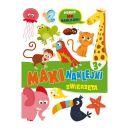 Okładka książki - Maxinaklejki. Zwierzęta