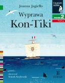 Okładka ksiązki - Wyprawa Kon-Tiki. Czytam sobie. Poziom 2
