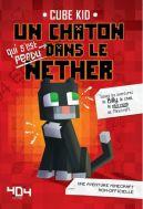 Okładka - Minecraft 7. Pamiętnik 8-bitowego kota. Fioletowy portal