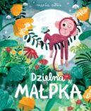 Okładka ksiązki - Dzielna małpka