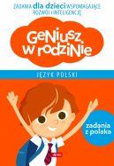 Okładka - Geniusz w rodzinie. Język polski