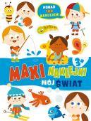 Okładka książki - Maxinaklejki. Mój świat